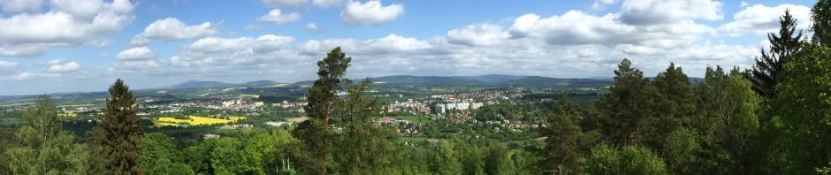 Panorama Turnova