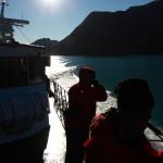 Na lodi po Gjende